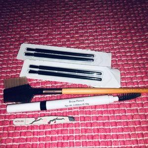 🆕💄5 piece Brow /lash bundle •ecotools•revlon•ELF